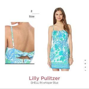 Lilly Puiltzer Shelli  Whisper blue dress